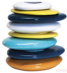 Vase Pebbles Colore 20cm