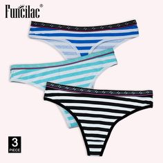 98f08d410dcc Sexy G-String Cotton Panties for Women Thong String Female Underwear  Lingerie Intimate Briefs Ladies Low-Rise T-back FUNCILAC
