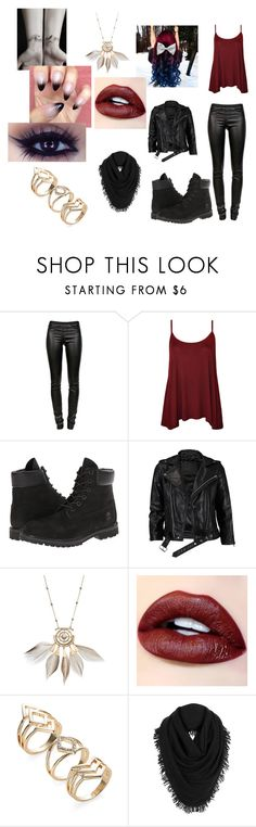 """""""Rainbow hair..Don't care"""" by blackshadows-i on Polyvore featuring Helmut Lang, WearAll, Timberland, VIPARO and White + Warren"""