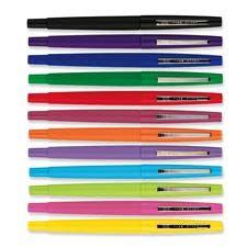 My favorite pen, PaperMate Flair felt tip.