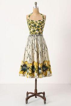 56b85d52b9638 Anthropologie Bridal Shower Attire, Beautiful Outfits, Gorgeous Dress,  Frocks, Vintage Dresses,