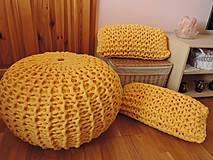 Úžitkový textil - Vankúš z MEGA priadze - 4260190_