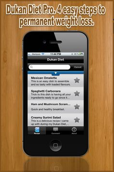 Dukan Diet Free – Recipes to Lose Weight « FreeOnAppStore