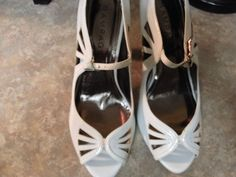 Rampage Heels Size 10 Med (1 3/4 in. to 2 3/4 in.), Open Toe, Solid #Rampage #OpenToe