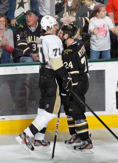 Word to the wise (and Nystrom) if you anger the Malk, you deal with the consequences, which most likely come in the form of you losing the game. So be my guest, get Geno riled up!! 2/29/12