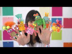 DIY finger puppet friends!