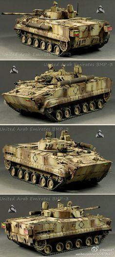 BMP-3 UAE From Chinese modeller Swan Lava