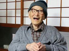 -Oldest man- Jiroemon Kimura (木村 次郎右衛門  April 19, 1897 – June 12, 2013) was a Japanese supercentenarian. He became the verified longest-lived man in history, being 116 years and 54 days old