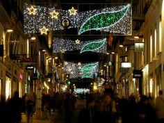 #Christmas #lights in #Nantes (#France), #illuminations #Noel - Réalisation Groupe Leblanc Illuminations (2012) - EclairagePublic.eu - #Xmas #guirlandes #led #étoiles
