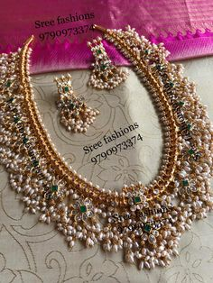 Indian Bridal Jewelry Sets, Silver Jewellery Indian, Bridal Jewellery, Antique Jewellery Designs, Gold Jewellery Design, Handmade Jewellery, Gold Jewelry Simple, Rose Gold Jewelry, Schmuck Design