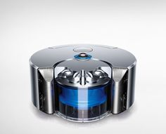360 Eye is a minimalist design created by England-based designer Dyson. To create powerful suction one needs a powerful motor. But powerful motors are big and heavy so Dyson engineers designed the Dyson Digital Motor V2. (3)