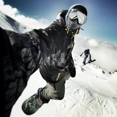 Some people have all the fun. I like to call those people, the Snowboarders. #snowboard