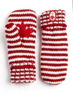 HBC Collections | Accessories | Striped Mittens | Hudson's Bay LOVE THESE