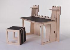 forteresse desk