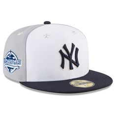 online store 66d99 22612 New York Yankees New Era 2018 MLB All-Star Game On-Field 59FIFTY Fitted Hat  – White Navy