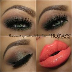 | One of my favorite looks!!  ✨ Eyes: @motivescosmetics gorgeous Heavy Metal P...