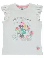 Disney M/ädchen Minnie Mouse T-Shirt