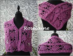 A pink scarf! :)  @adriafil #crochet #diy