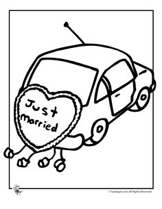 80 Best Wedding Coloring Book For The Kids Images On Pinterest