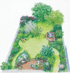 Backyard Garden Design Layout Over 65 Fashion Ideas Garden Design Plans, Backyard Garden Design, Garden Landscape Design, Small Garden Design, Backyard Landscaping, Landscaping Ideas, Arborvitae Landscaping, Small Garden Layout, Garden Layouts