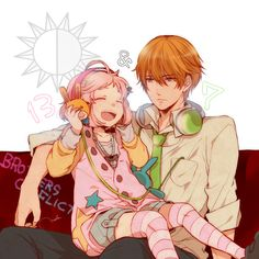 BROTHERS CONFLICT Natsume and Wataru