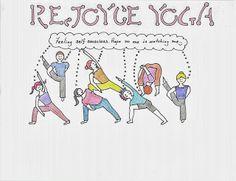ReJoyce Yoga Carton: Feeling self-conscious is normal. Here's a cartoon about how I feel in yoga class. http://rejoyceyogablog.blogspot.com/2013/10/rejoyce-yoga-cartoon-feeling-self.html