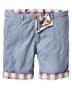 reversible chino short. by scotch & soda. #clothing #men's #apparel #shorts