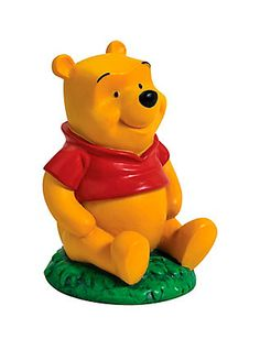 Disney Winnie The Pooh Resin Mini Figurine,