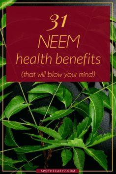 health benefits neem