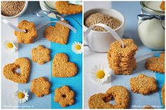 Sezamové sušenky Something Sweet, Cooking Tips, Paleo, Cereal, Almond, Cookies, Blog, Breakfast, Recipes