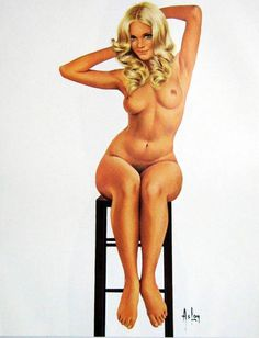 French painter, sculptor and artist, Aslan is most famous his pin-up work, namely his contributions to Lui magazine from its launch in 1964 all the way up