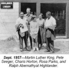Pete Seeger, Rosa Parks, Martin Luther King, Aunt, Roots, Image, King Martin Luther