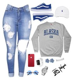 """""""#60."""" by ohdamntascyon ❤ liked on Polyvore featuring Vans and Michael Kors"""