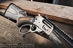 Lever action rifle