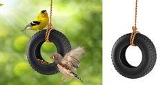Help de vogels de koude dagen door met de Swing Time vogelvoeder van Fred. http://owl.li/DhsH3
