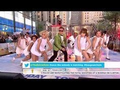 """HD Live """"PSY - Gangnam Style"""" (강남스타일) on NBC's Today Show Sep. 14th 2012"""