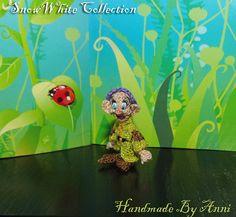 Snow white Dwarf Dopey Disney miniatures Disney by ByAnni