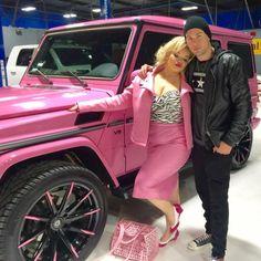 Trisha Paytas Mercedes G-Wagon