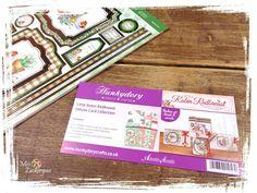 [Auspacken] Grußkarten-Bastelset von Hunkydory - Thema: Winter/ Weihnachten mit dem Rotkehlchen
