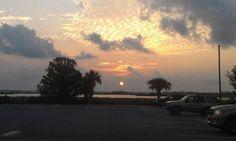 Sunrise at boat ramp, Crystal River, FL