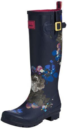 7/10/15 Joules Women's Welly Print Rain Shoe