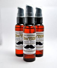 60ml BroTION for Men BEARD OIL All Natural Lime by honibalmshop