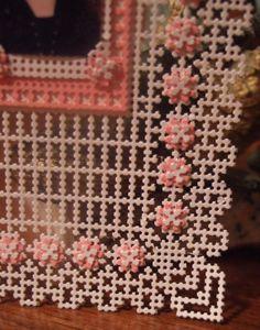 carton perforé-Cadre (Détail) LIANE