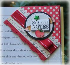 School Bookmark _pb by peanutbee - Cards and Paper Crafts at Splitcoaststampers