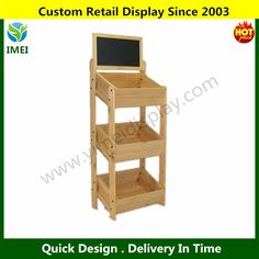 lacquer fruit and vegetable display stand wood display stand wholesale supermarket fruit vegetable display rack YM07263