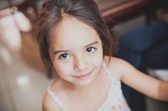 Cute eyes full of joy Portrait of Kiara, my girlfriend's niece