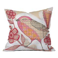 Wee Lass Pillow by Cori Dantini.