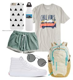 """""""Chill vibes"""" by jadenriley21 on Polyvore featuring Rowdy Gentleman, Vans, Ray-Ban, Patagonia and H&M"""
