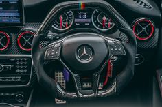 Did you liked our work on this ? Check out our website and other social media , click VISIT Mercedes A45 Amg, Mercedes Car, Mercedes Benz Classes, Custom Mercedes, Hummer H1, Steering Wheels, Car Upholstery, Modified Cars, Luxury Cars
