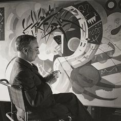 """bauhaus-movement: """" The creator of the first modern abstract paintings, Wassily Kandinsky was an influential Russian painter and art theorist. Wassily Kandinsky, Karl Schmidt Rottluff, Naive Art, Henri Matisse, Pictures To Paint, Art And Architecture, Artist At Work, Modern Art, Abstract Art"""